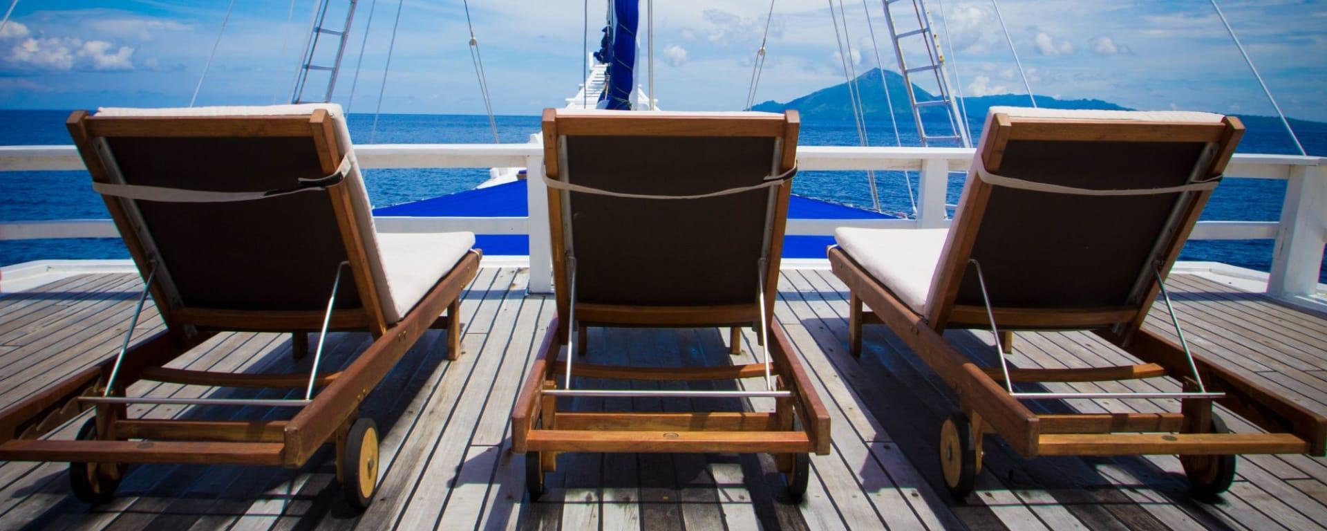 Kreuzfahrt im Inselparadies Raja Ampat ab Sorong: Ombak Putih Relax
