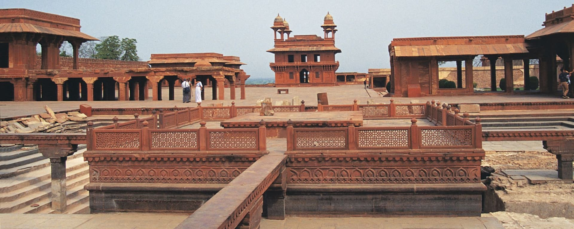 Höhepunkte Rajasthans ab Delhi: Fatehpur Sikri: Kings Palace