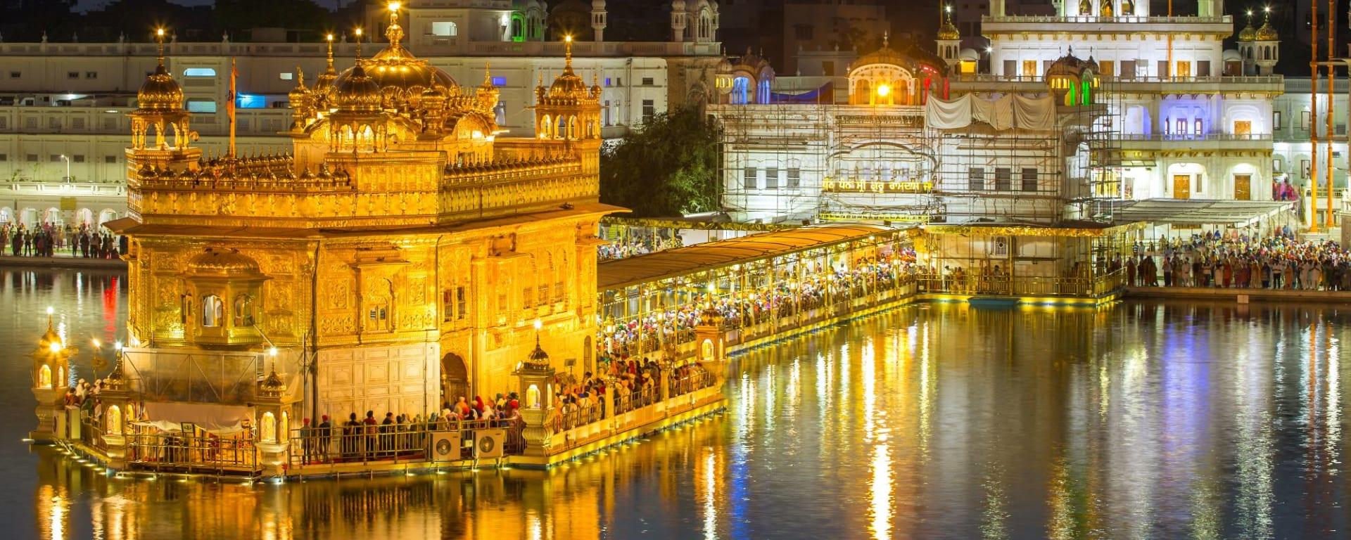 Tout savoir sur les voyages et les vacances en Inde: Amritsar Golden Temple Harmandir Sahib
