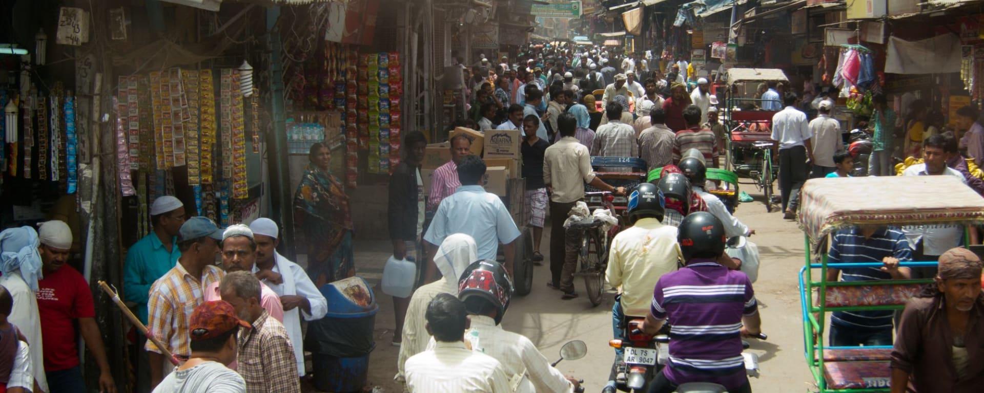 Old Delhi à pied: Chandni Chowk Delhi