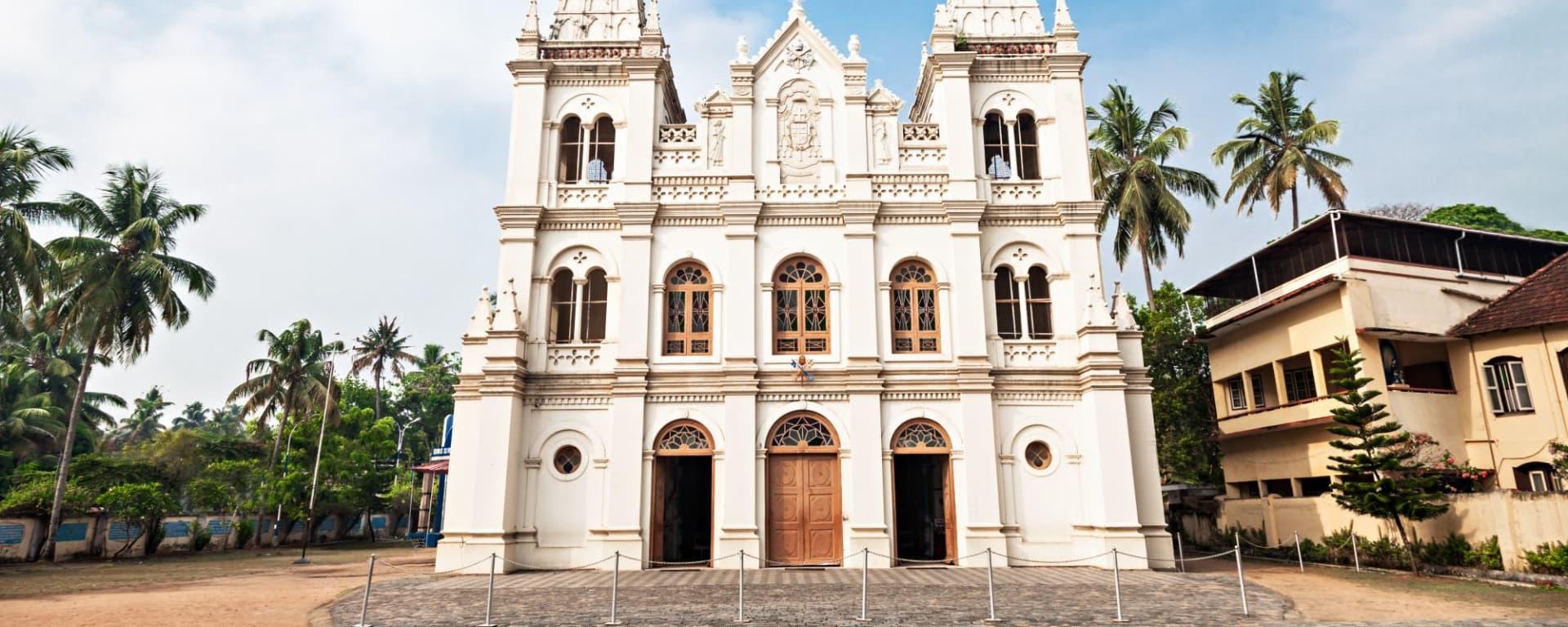 Balade à pied dans Fort Kochi: Santa Cruz Basilica in Kochi