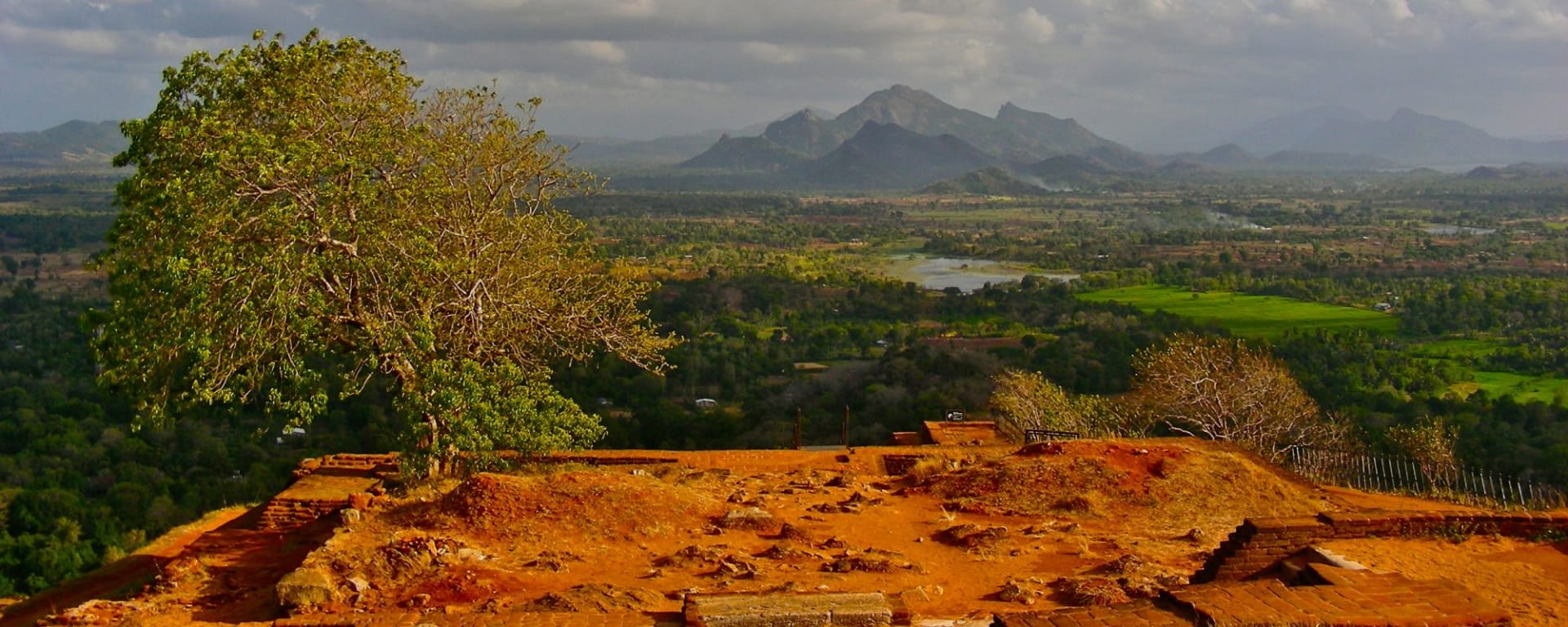 Sri Lanka Kompakt ab Colombo: Sigiriya: View from the top