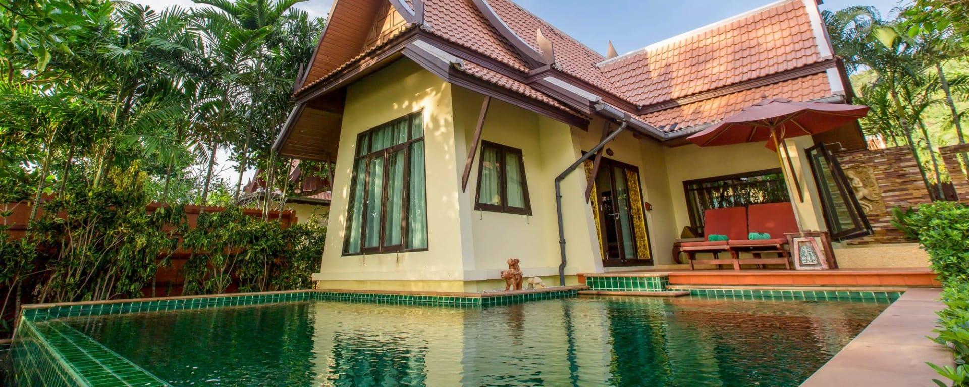 Koh Chang Paradise in Ko Chang: Beach Front Pool Villa