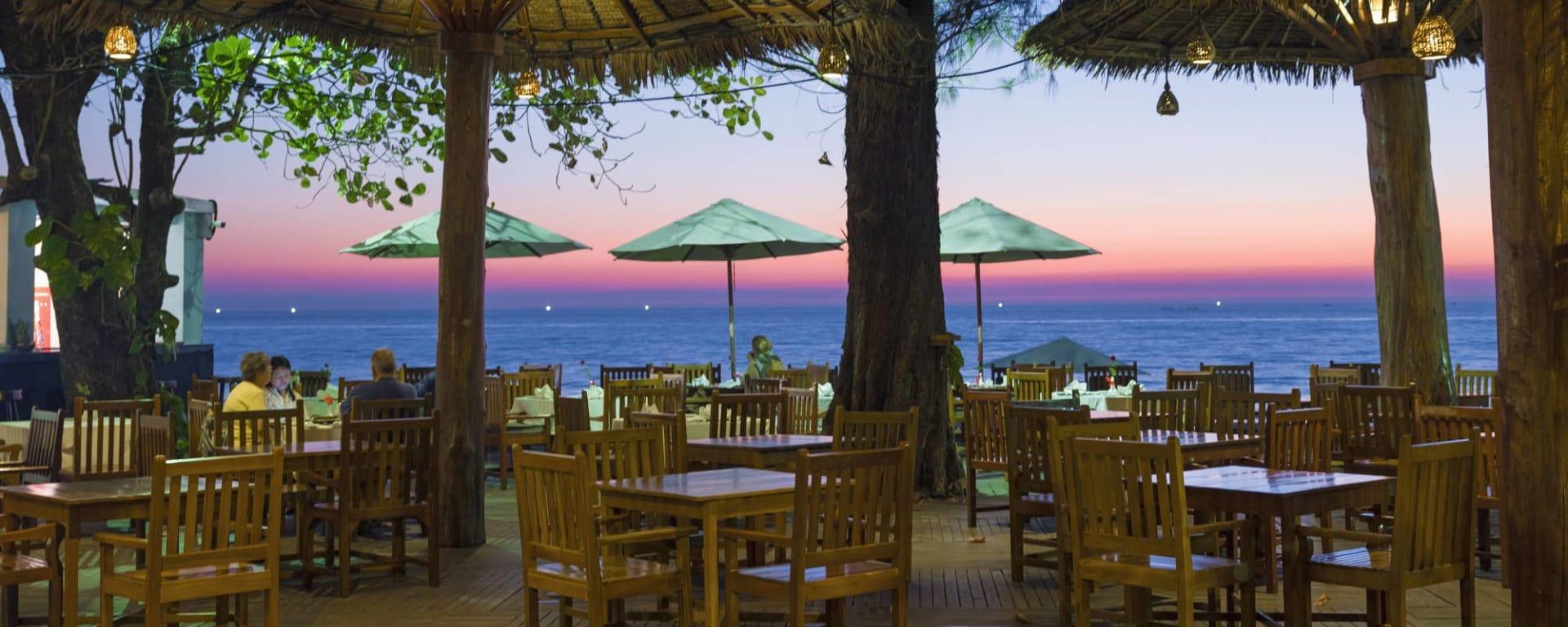 Thande Beach Hotel à Ngapali: Pon Nyet Yeik Restaurant