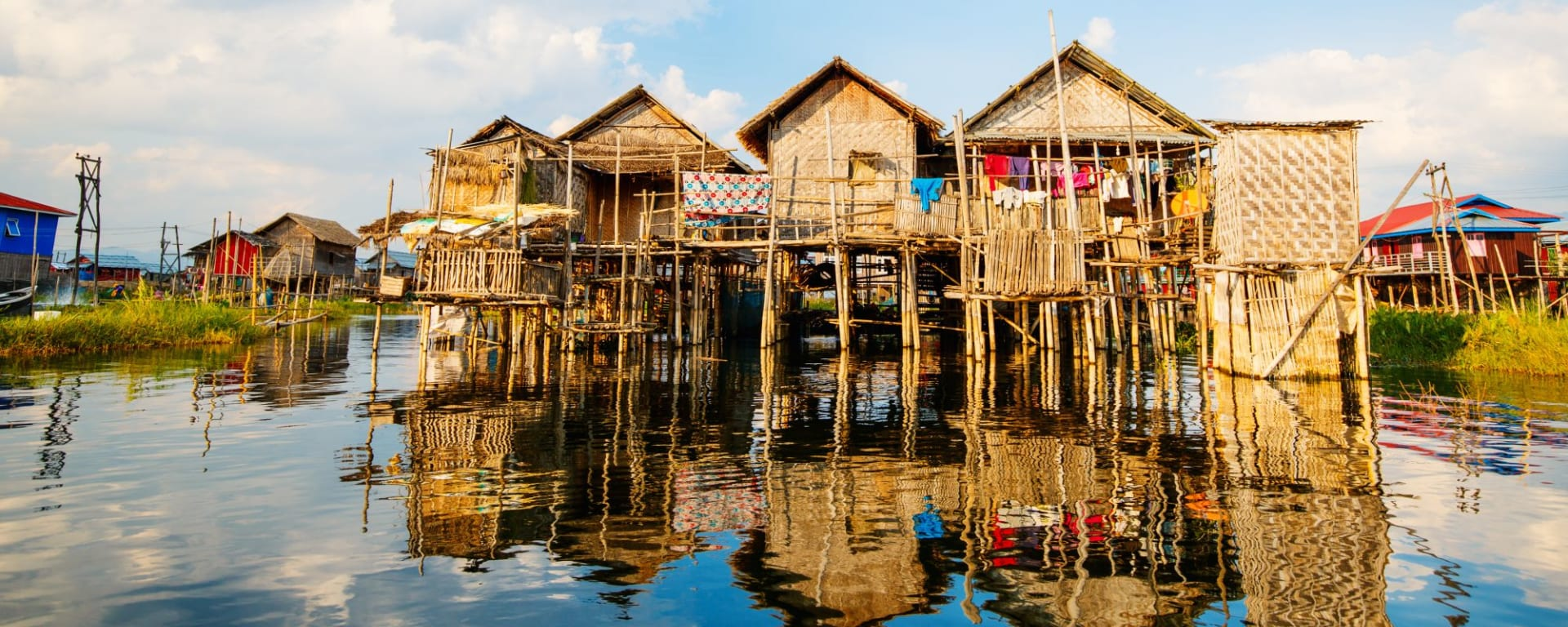 Le pays doré de Yangon: Inle Lake Floating Village