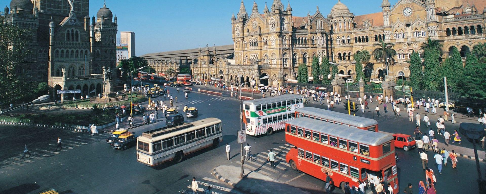 Mumbai autrement: Mumbai Junction, Victoria Station