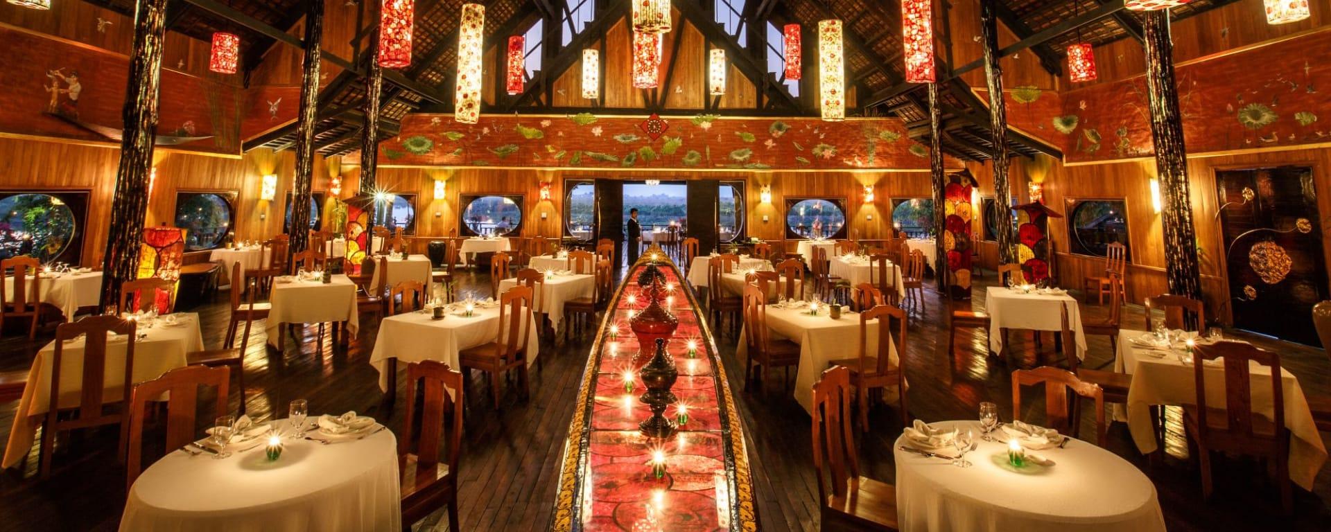 Inle Princess Resort in Inle Lake: Dining Room