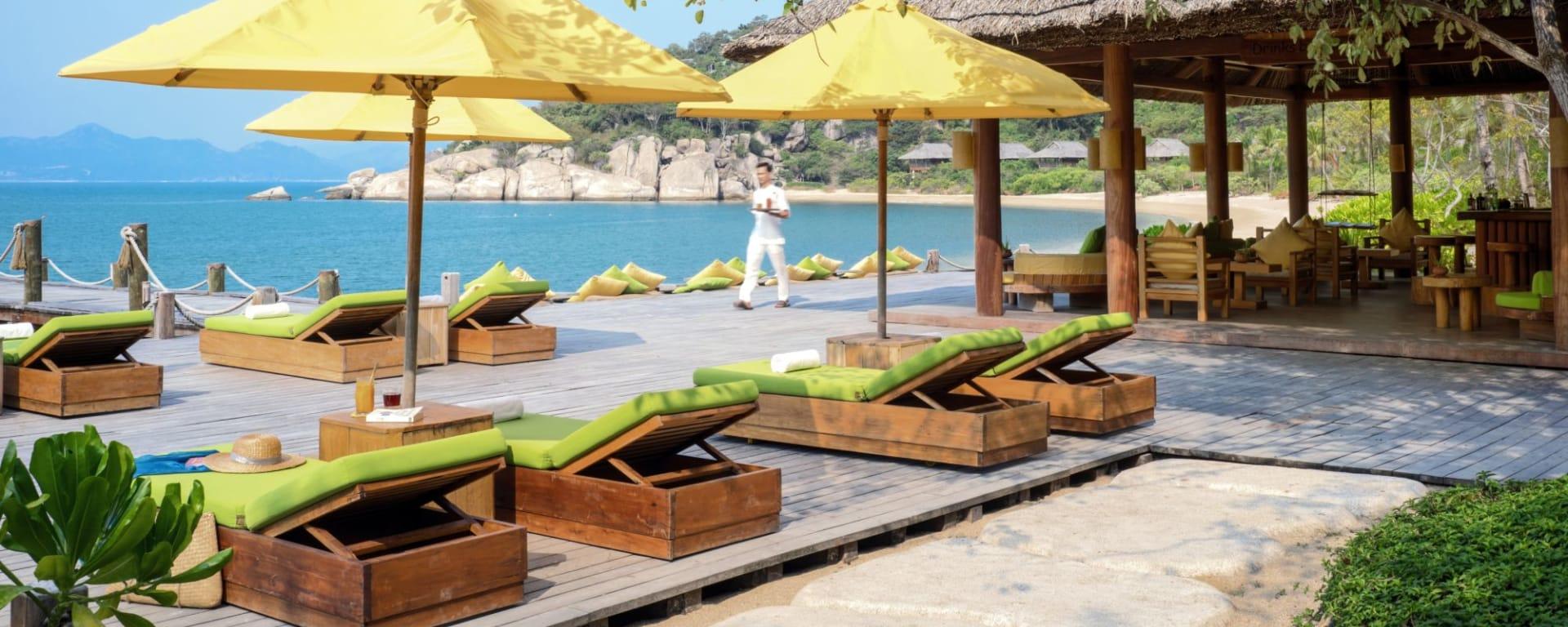 Six Senses Ninh Van Bay à Nha Trang: Drinks by the Beach