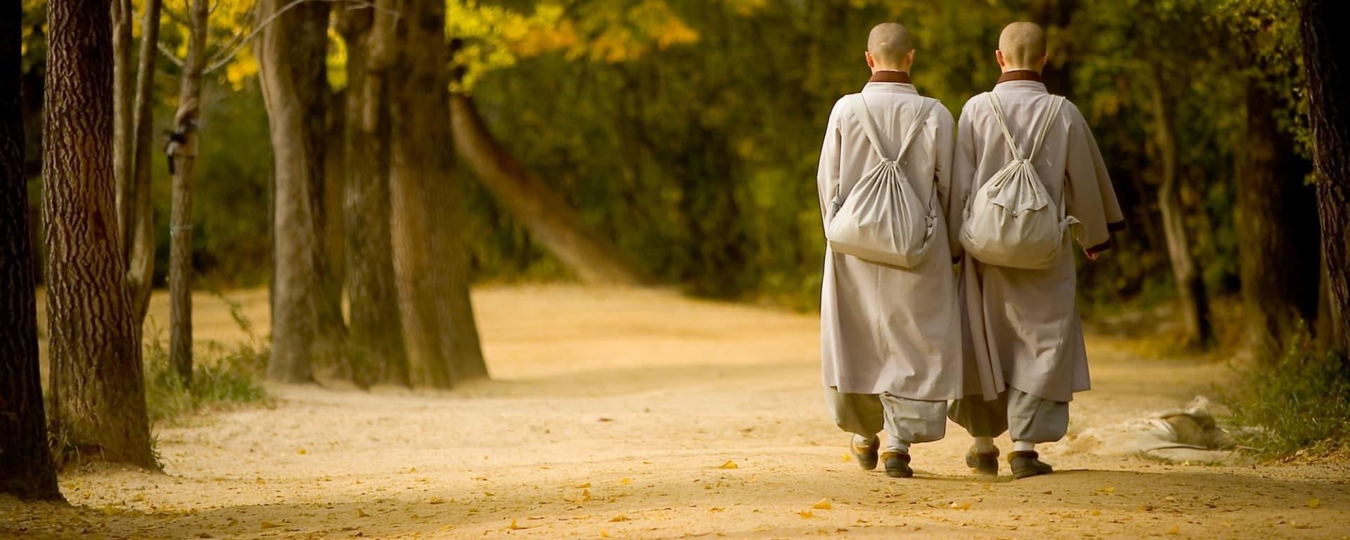 Wissenswertes zu Südkorea Reisen und Ferien: Buseoksa monks