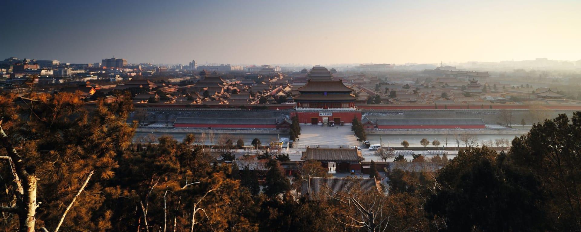 La Chine impériale avec une croisière sur le Yangtsé de Pékin: Beijing Forbidden City