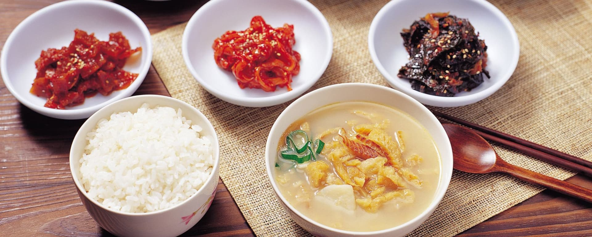 Koreanischer Abend in Seoul: Mouthwatering food