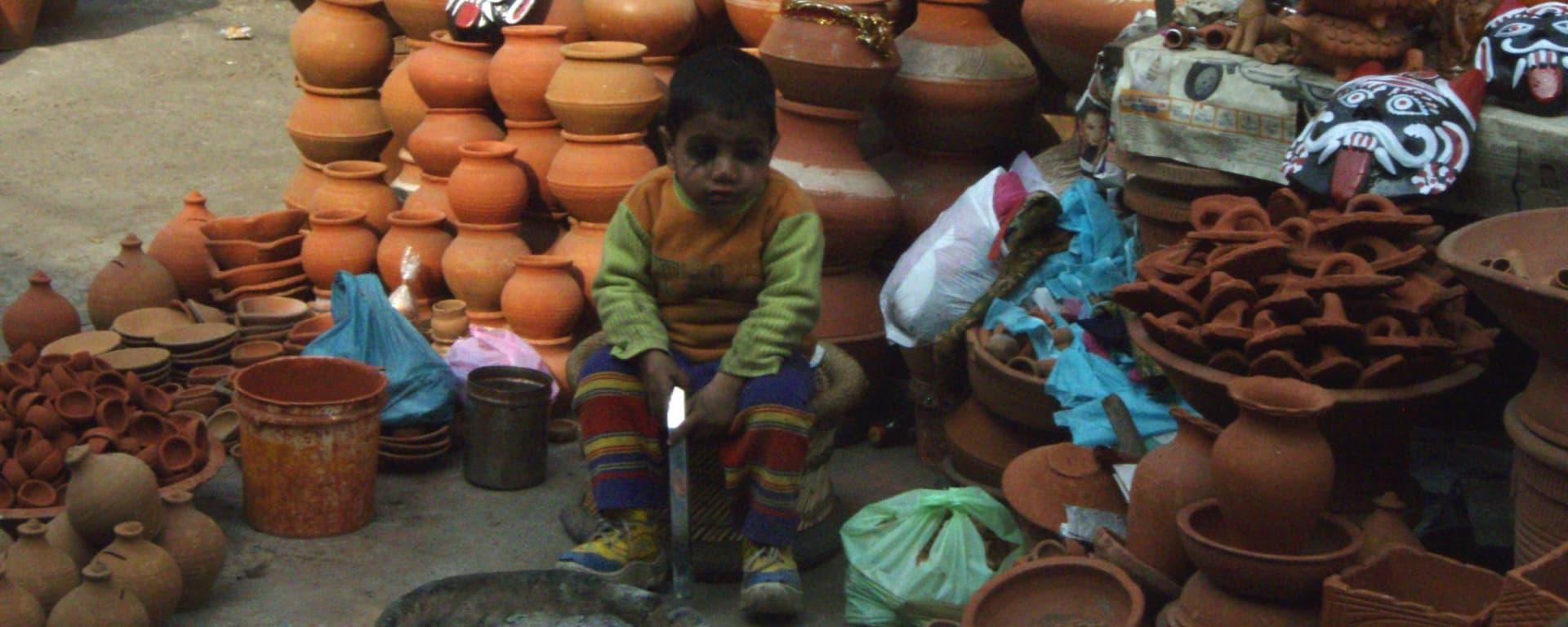 En route avec d'anciens enfants des rues à Delhi: Salaam Baalak Market