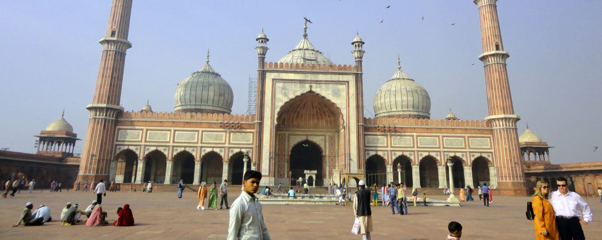Old Delhi: Delhi: Jama Masjid