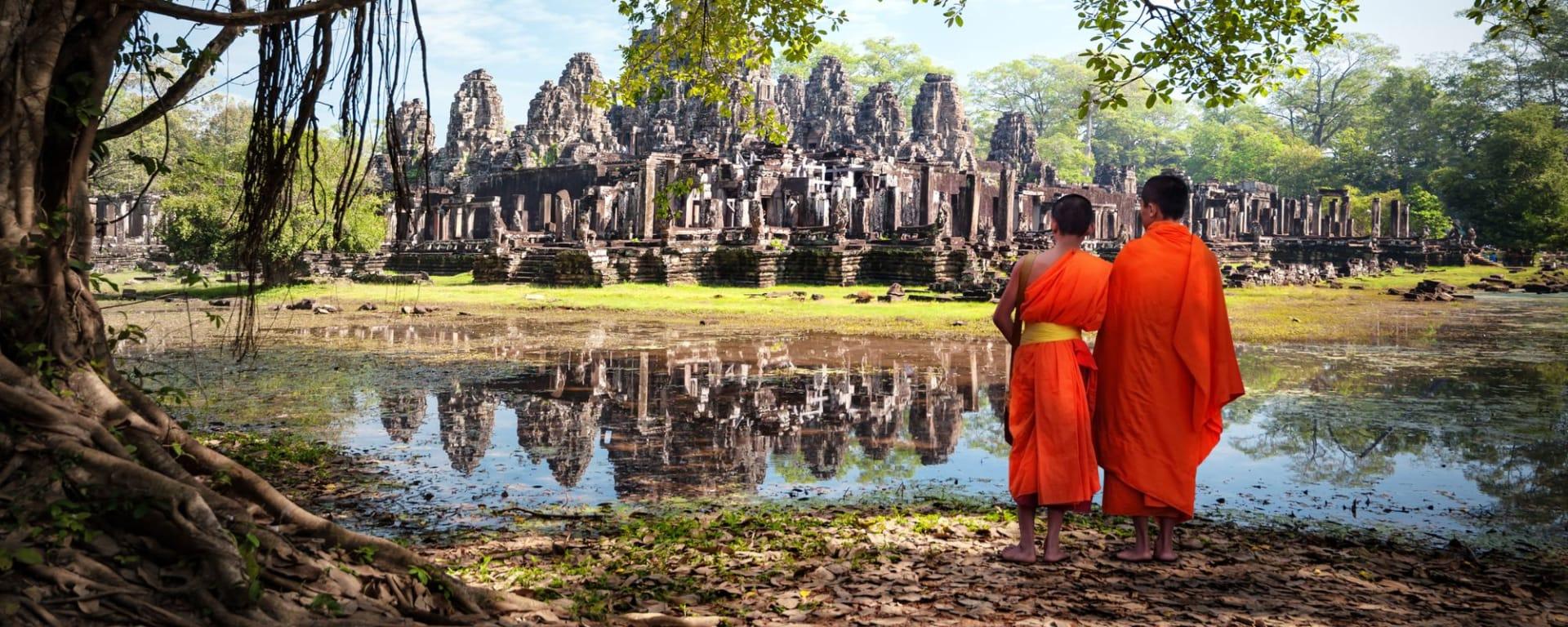 Von Angkor nach Phu Quoc ab Siem Reap: Siem Reap Ta Phrom
