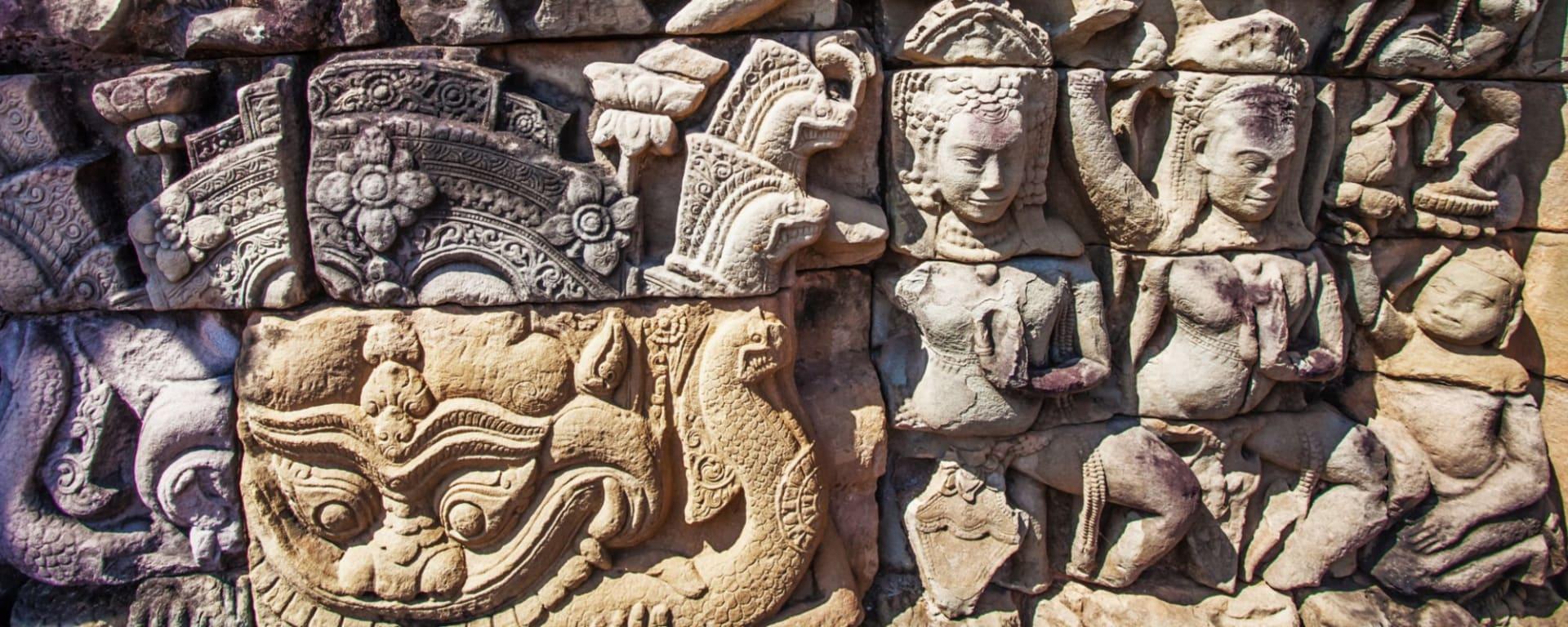 Découverte active de la merveille d'Angkor de Siem Reap: Siem Reap Angkor Wat