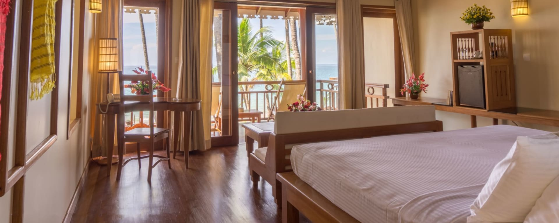 Art of Sand Resort in Ngapali: Beach Front Deluxe