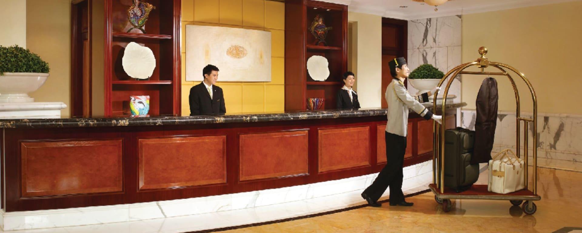 Royal Macau à Macao: Hotel Lobby Reception