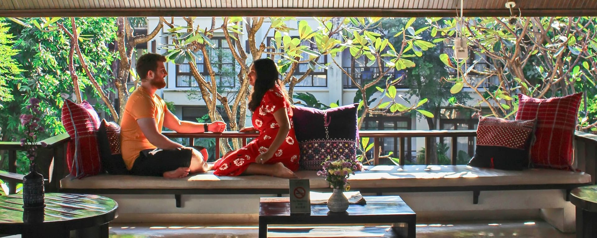 Bodhi Serene in Chiang Mai: Lounge Area