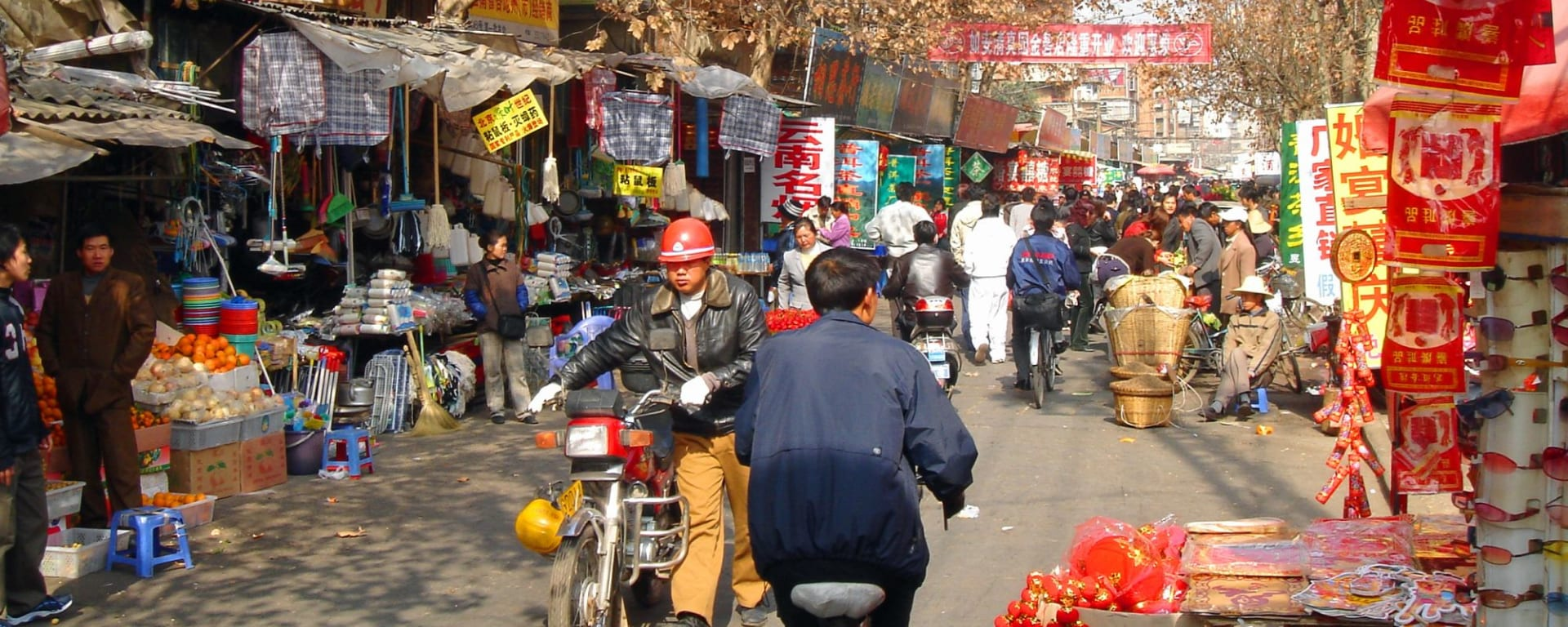 Les hauts lieux du Yunnan de Kunming: Kunming: Street market