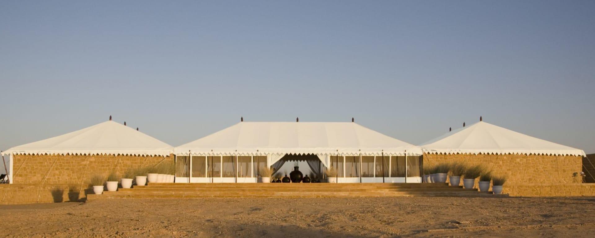The Serai Desert Camp à Désert du Thar: Entrance View