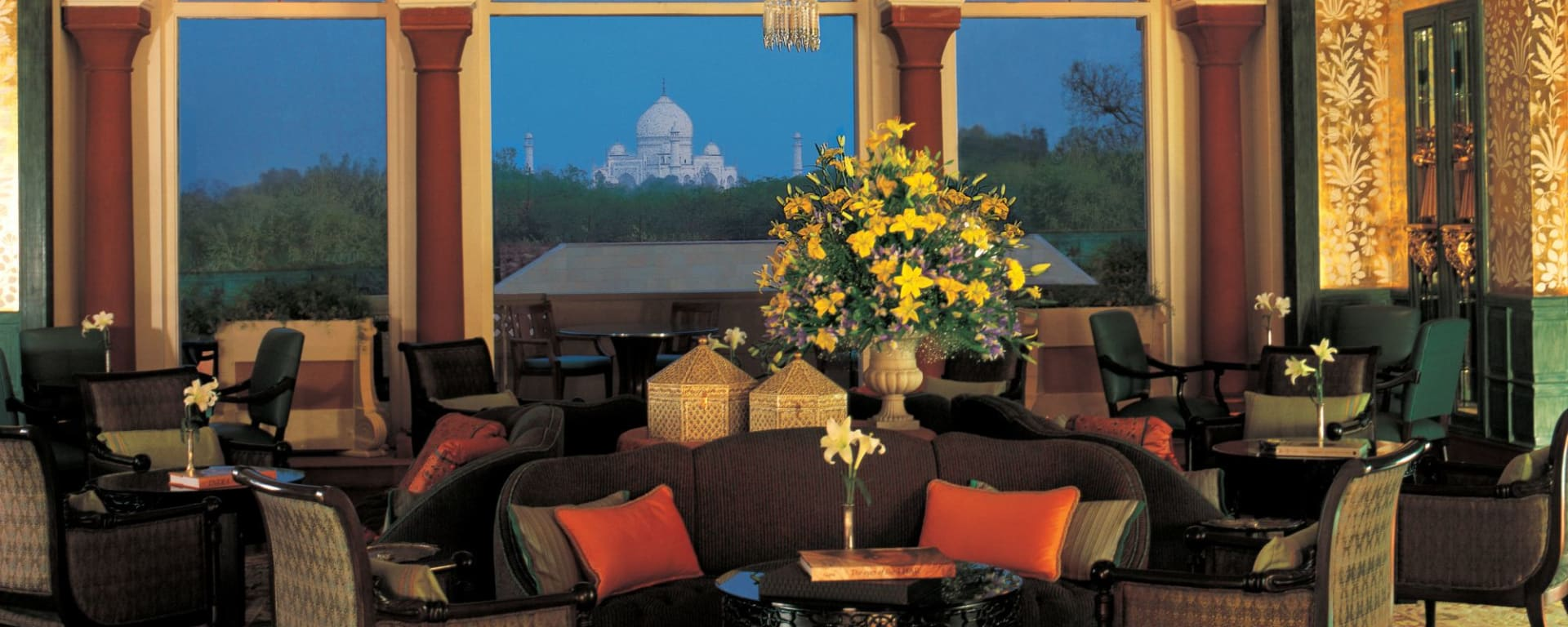 The Oberoi Amarvilas in Agra: Lounge
