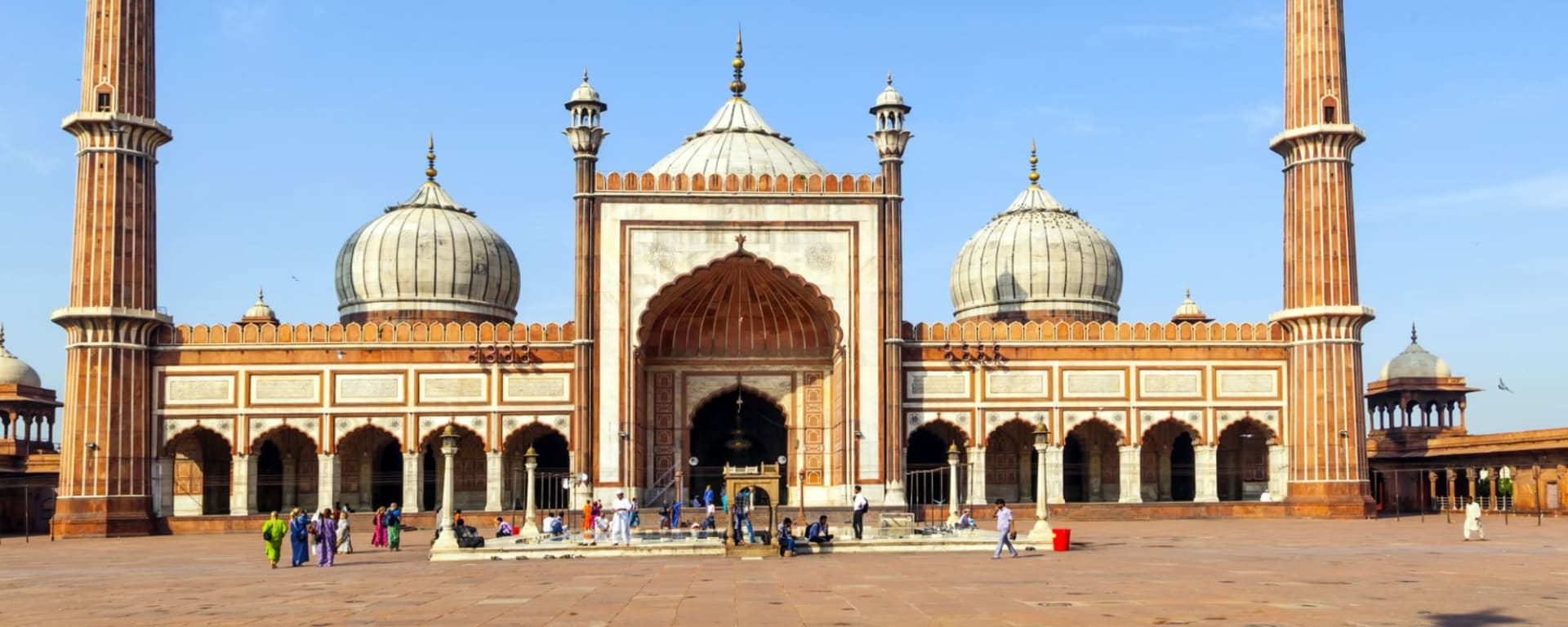 Old Delhi à pied: Delhi: Jama Masjid