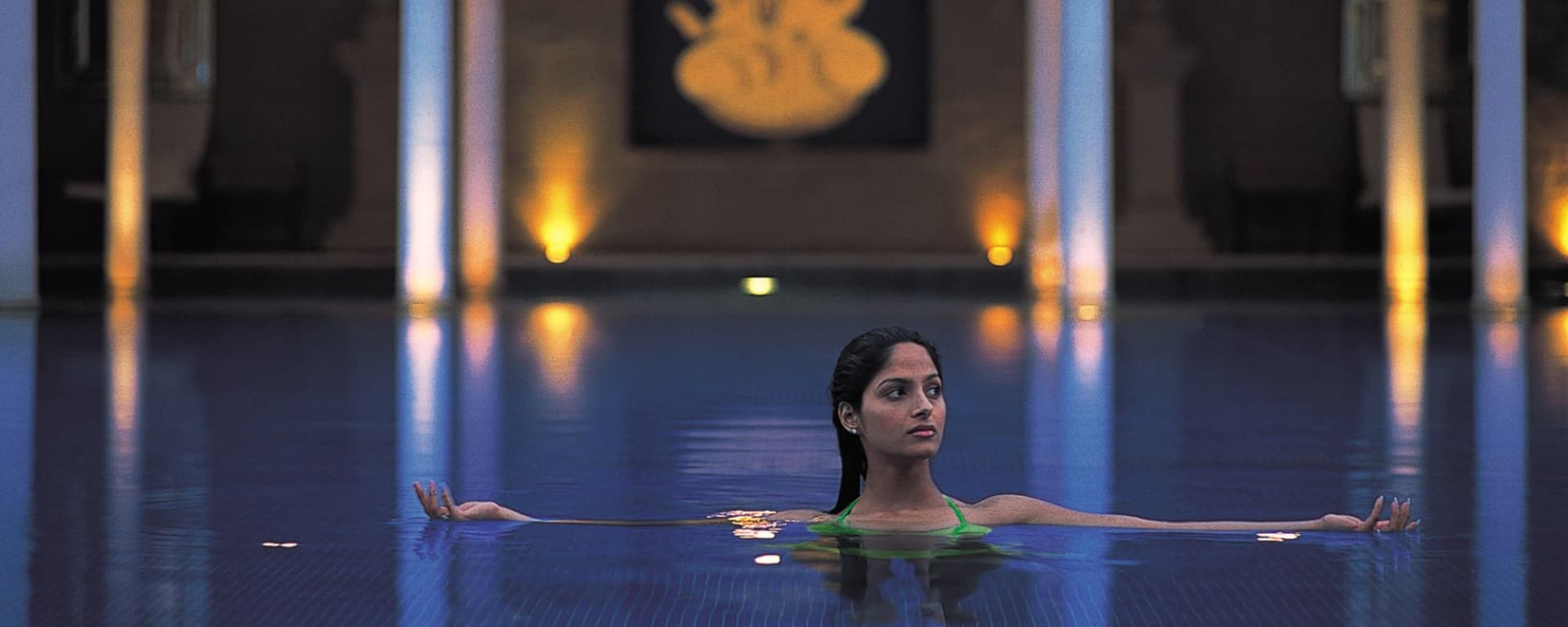 The Oberoi Amarvilas in Agra: Pool