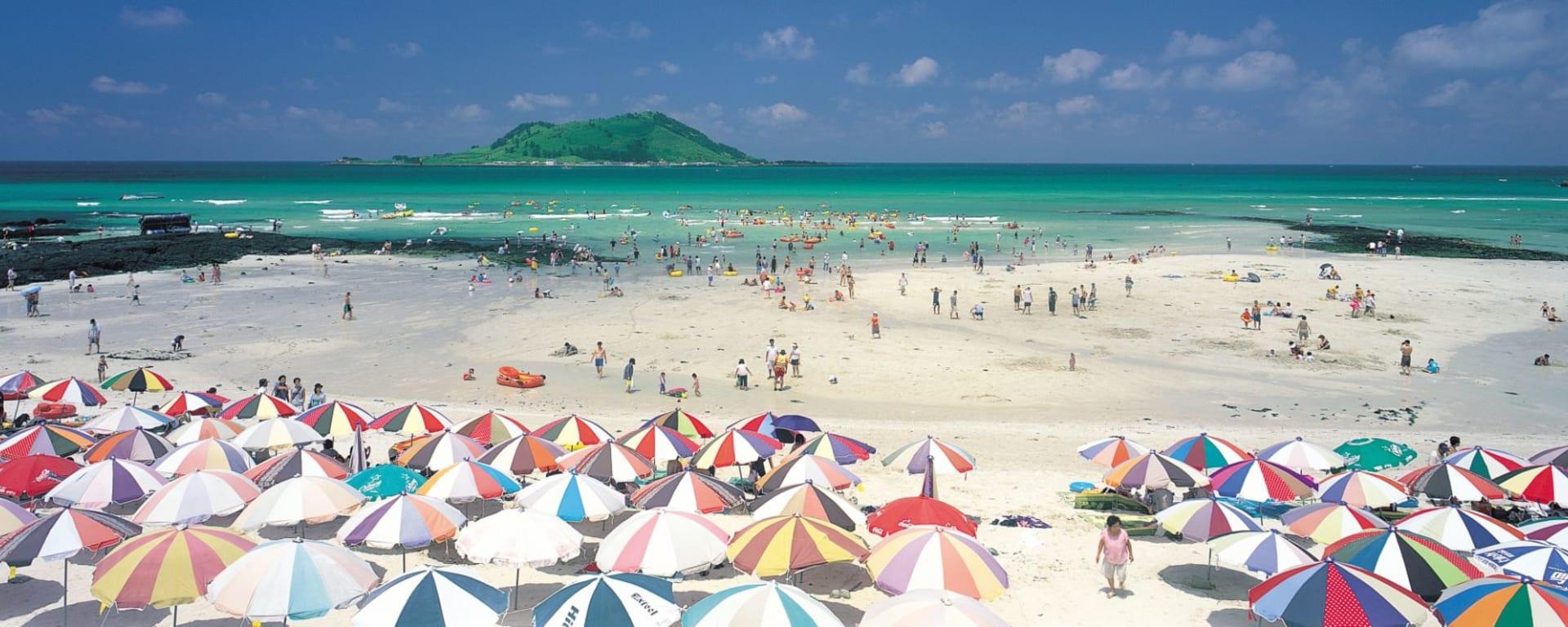 Insel Jeju, Mietwagen-Rundreise: Jeju