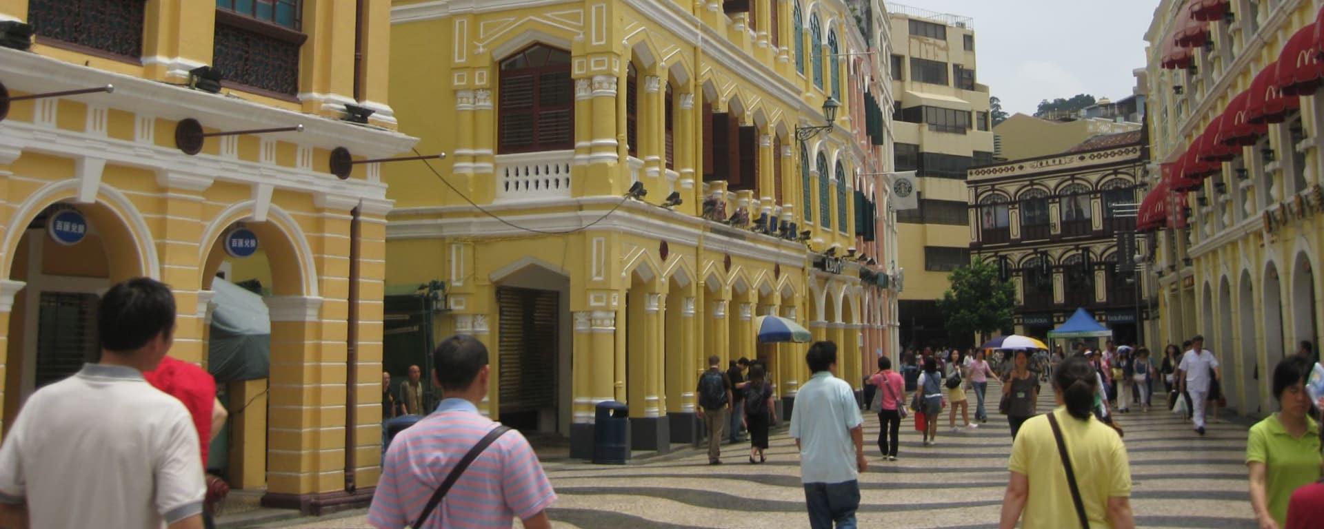 Wissenswertes zu Macau Reisen und Ferien: Largo do Senado