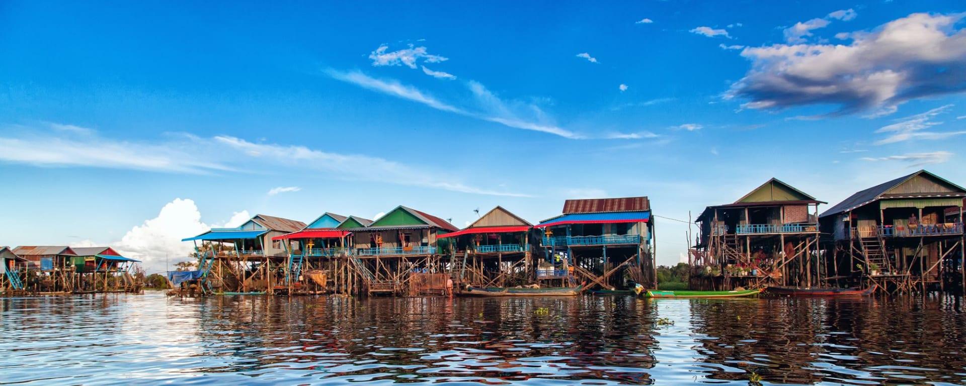 Battambang - Die Reiskammer Kambodschas (Siem Reap - Ko Chang): Tonle Sap Floating Village