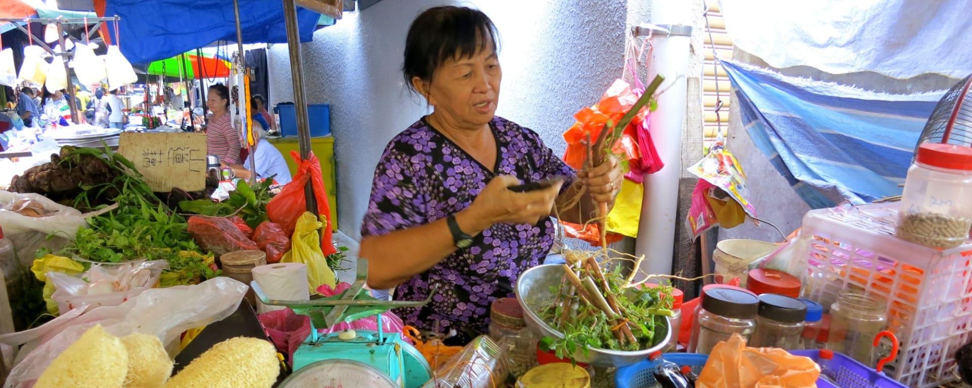 K.L. zu Fuss entdecken in Kuala Lumpur: Malaysia Market