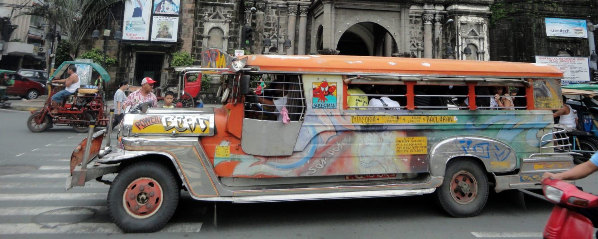 Manille en jeepney: Manila Jeepney