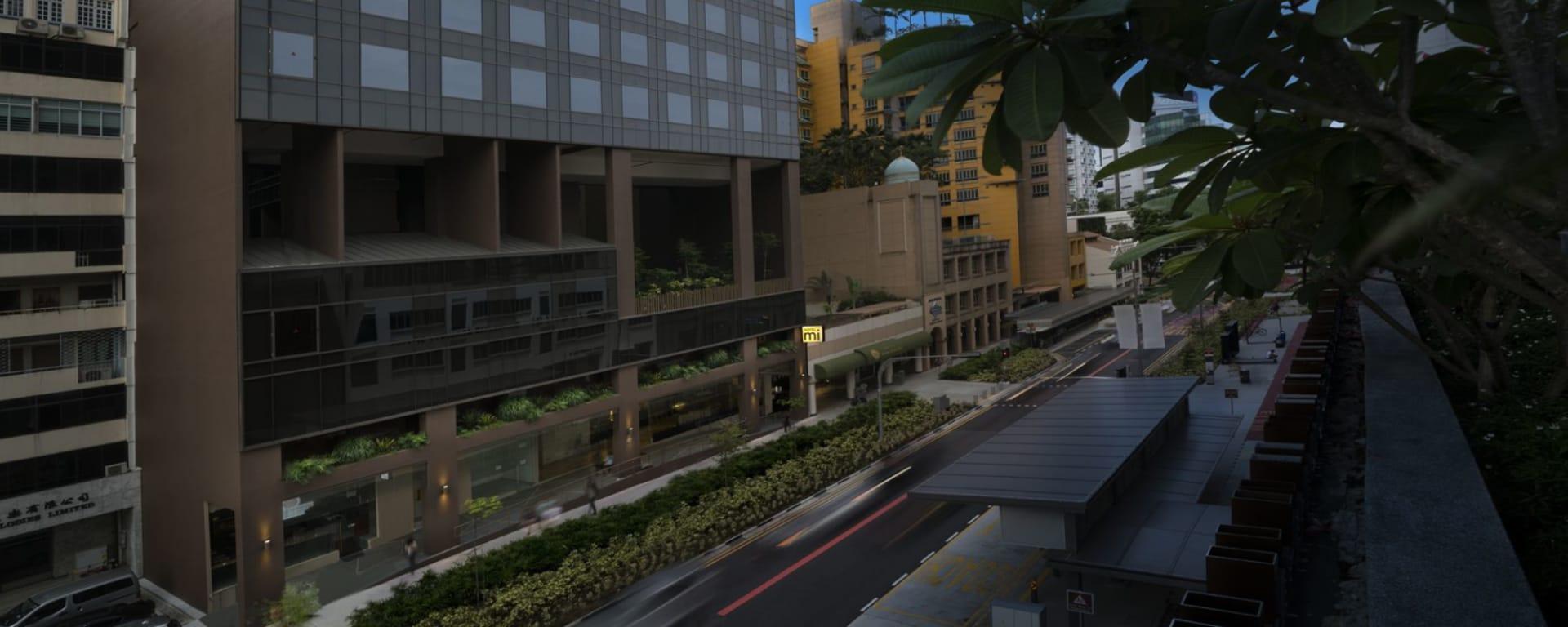 Hotel Mi in Singapur: Hotel building