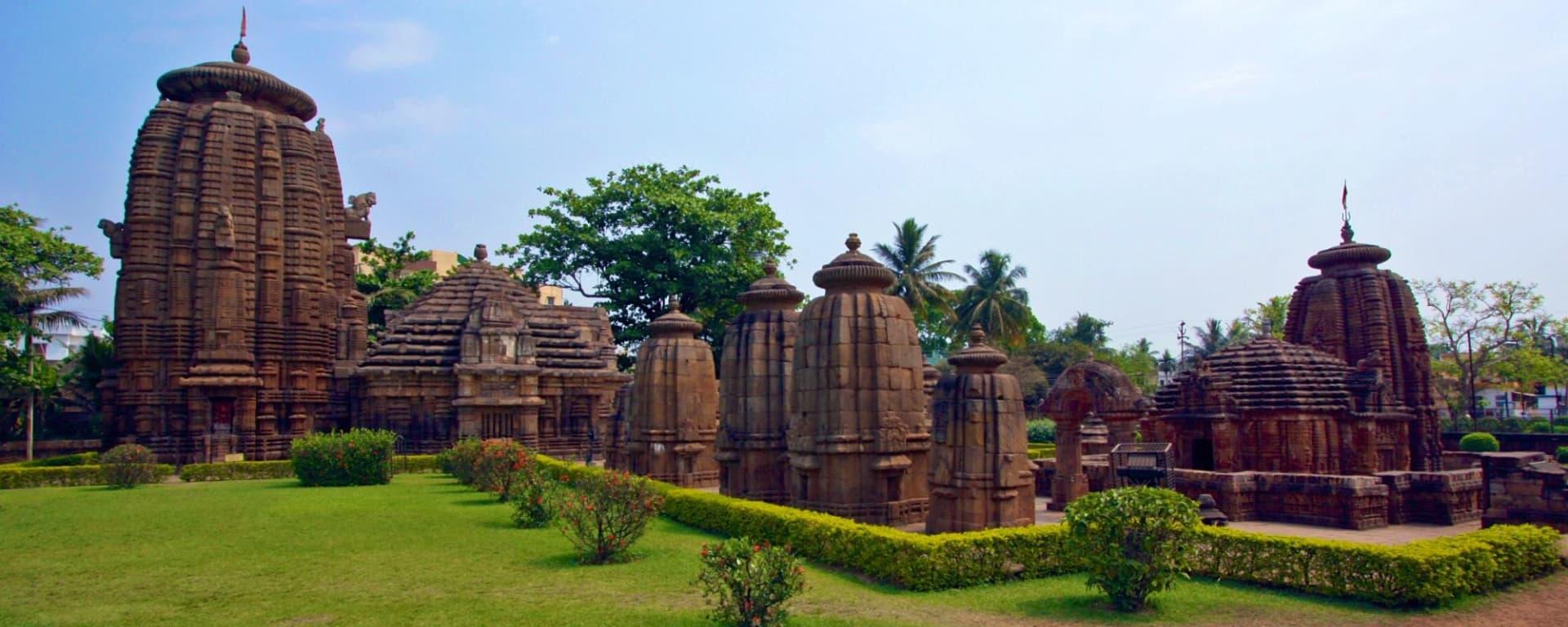 Odisha, terre des temples de Bhubaneswar: Temples Bhubaneswar