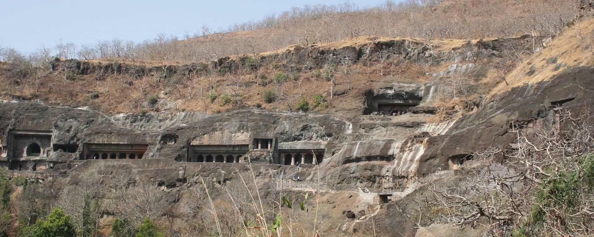 Héritages culturels Ellora & Ajanta de Aurangabad: Ajanta: caves