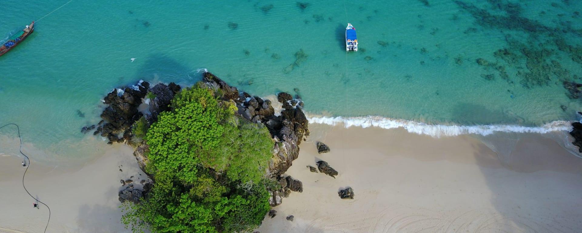 Awei Pila Resort à Mergui Archipel: Awei Pila-Secluded Pristine Beach