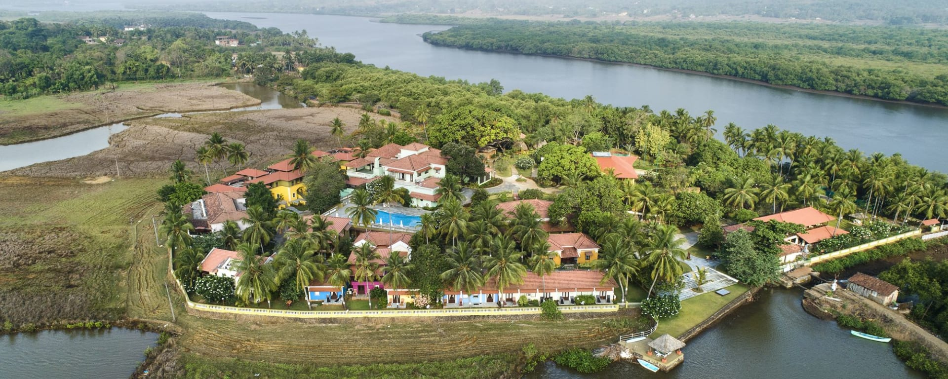 Mercure Goa Devaaya Retreat: Aerial View