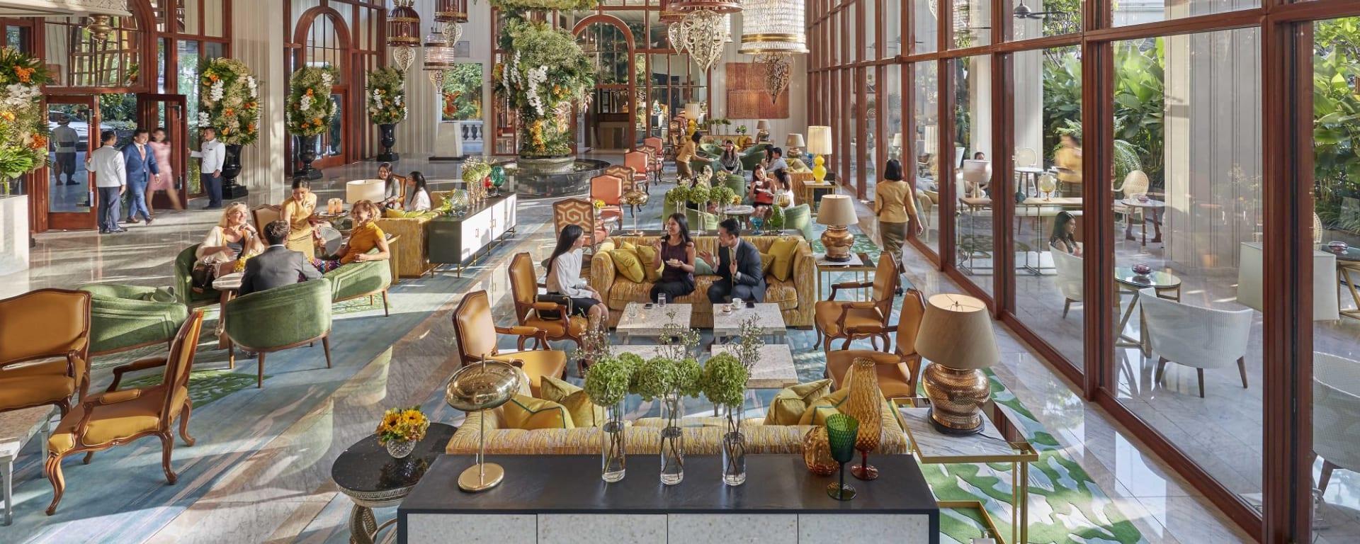 Mandarin Oriental à Bangkok: Lobby