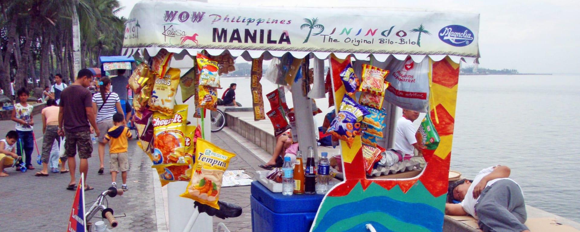 Stadtrundfahrt Manila, inkl. Mittagessen: Manila Roxas Blvd