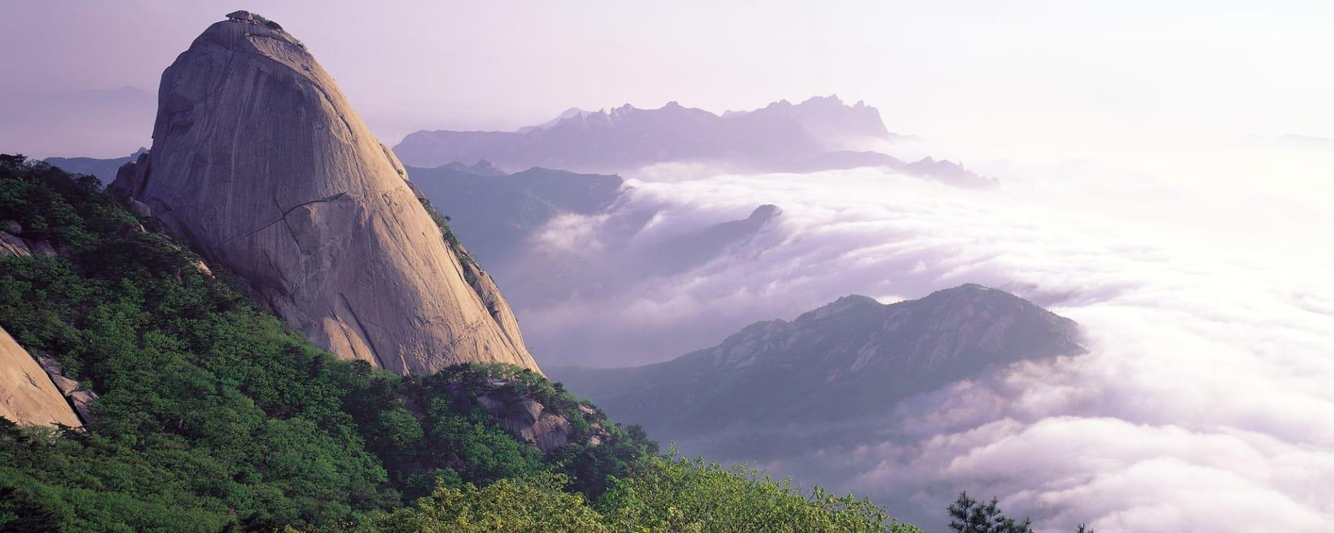 Wissenswertes zu Südkorea Reisen und Ferien: Bukhansan