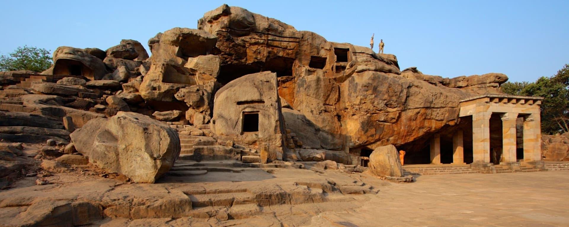 Odisha, terre des temples de Bhubaneswar: Khandagiri