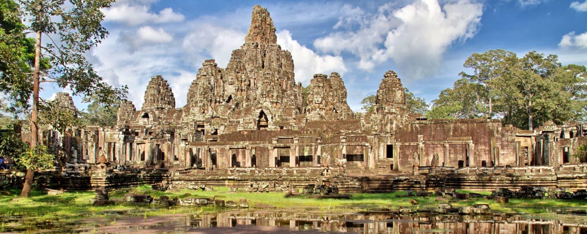 Voyages en Cambodge | Vacances en Asie par tourasia: Siem Reap Angkor Thom