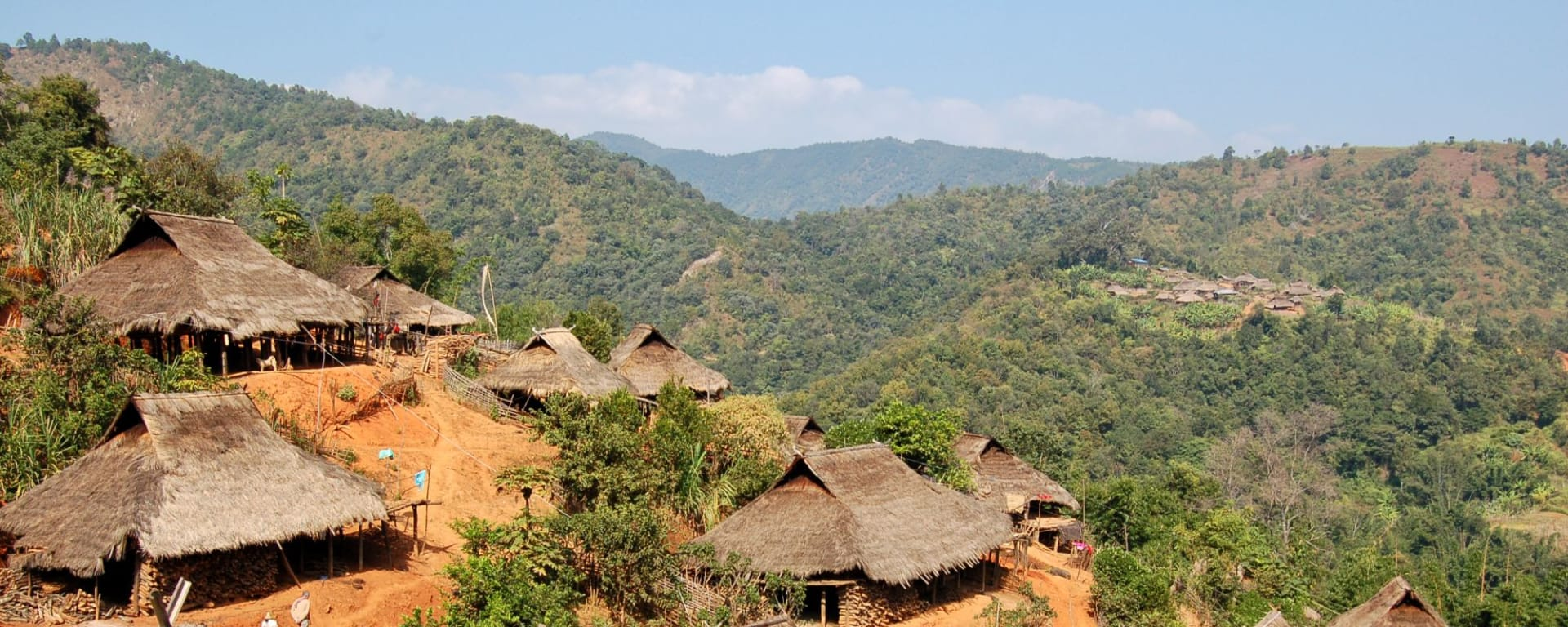 Tribus montagnardes de Kyaing Tong: Kyaing Tong: area view
