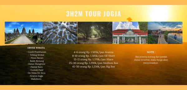 Paket Tour Jogja 3H2M