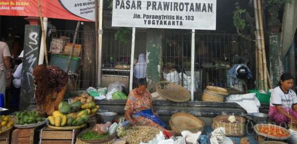 Kampung Prawirotaman Jogja