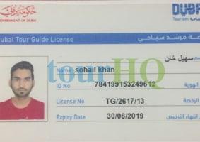 Sohail Khan Private Tour Guide in Dubai, United Arab