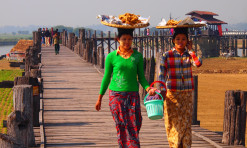 U Bein Bridge: Longest Teak-Made Bridge