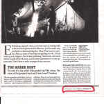 The Hunt of Your Life, Field & Stream 2004