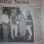 Donation for Tsunami Victims in 2004