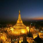 Behold the Shwedagon Pagoda